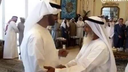 Crown Prince's humility is winning hearts online.