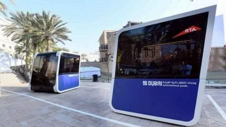 Each pod weighs about 1,500kg and has a capacity to accommodate 10 riders (six seated, four standing). Its average speed is 20 km/h.