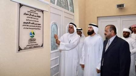 Al Shafie Mosque, which was built at a cost of Dh4.7 million, has an area of 1,457 sqm, according to a senior official at the Dar Al Ber Society.