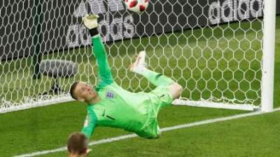 Pickford's penalty save gave England 4-3 win on peanlties