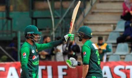 Pakistan defeated Zimbabwe by 244 runs in the 4th ODI, taking a 4-0 lead in the 5-match series.