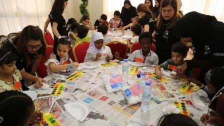 The camp kicked off on Saturday in partnership with Al Ihsan Charity Association.